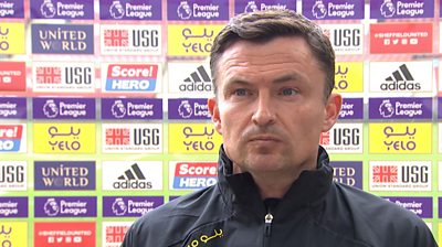 Sheffield United 0-2 Crystal Palace: Honesty cost us today - Paul Heckingbottom