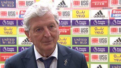 Sheffield United 0-2 Crystal Palace: Roy Hodgson 'very happy' with Palace performance