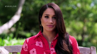 The Duchess of Sussex has made her first TV appearance since her interview with Oprah Winfrey.