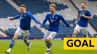 Substitute Glenn Middleton steers in a free-kick two minutes after opener.