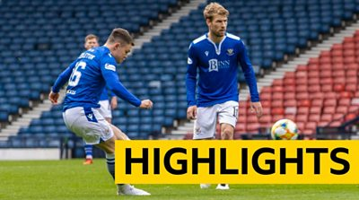 Highlights of St Johnstone's 2-1 Scottish Cup semi-final win over St Mirren from Hampden.