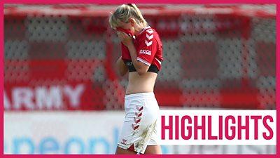 Women's Super League highlights: Brighton & Hove Albion 3-1 Bristol City