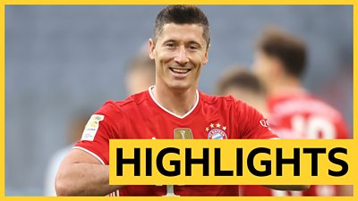 Highlights: Robert Lewandowski