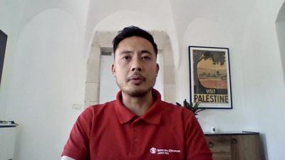 Jason Lee, Save the Children, Jerusalem