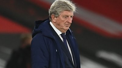 "Crystal Palace manager Roy Hodgson says he ""wasn't satisfied"" by his side's performance after they were beaten 3-1 by Southampton in the Premier League."