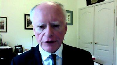 James F Jeffrey, former US ambassador