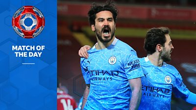 """Match of the Day's Alan Shearer and Dion Dublin look back at some of Ilkay Gundogan's """"wonderful"""" goals for title-winners Manchester City."""
