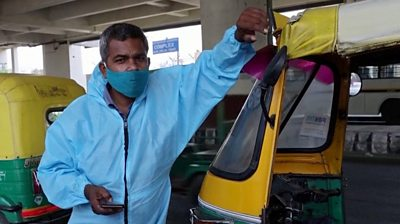 "India Covid-19: ""Tuk-tuk ambulance"" helps patients"
