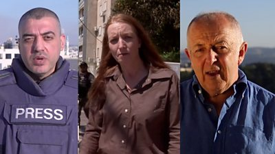 Israel-Gaza: The reaction of BBC journalists on the ground