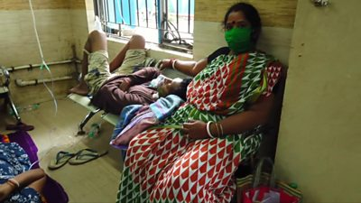 Patients in hospital