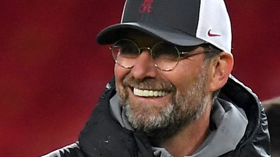 Klopp praises 'top' performance