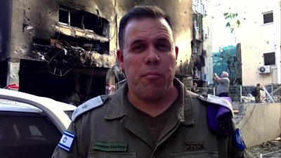 Lt Col Jonathan Conricus, Israeli Defence Forces spokesperson