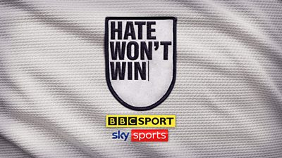BBC Sport and Sky Sports have come together to send a zero-tolerance message on online hate, as part of the Hate Won't Win campaign.
