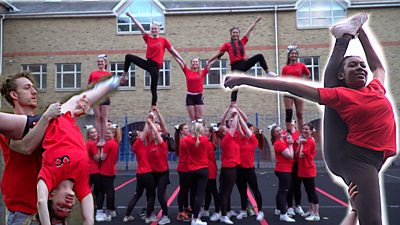 Ultimate Cheer cheerleading group