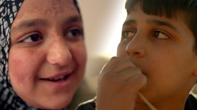Mustafa and Rahaf