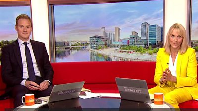 The BBC Breakfast presenter is stepping down after more than 20 years on the show.