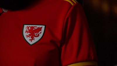 Hundreds of football fans are getting ready to watch Wales play in Baku