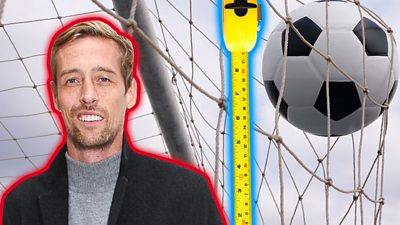 Taller or shorter with Peter Crouch