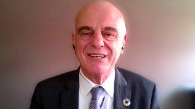 Dr David Nabarro, World Health Organization (WHO) special envoy on Covid-19