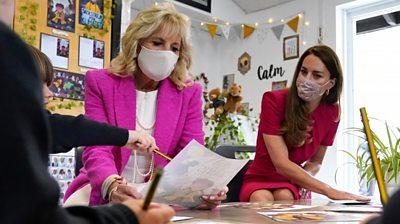 Jill Biden and The Duchess of Cambridge