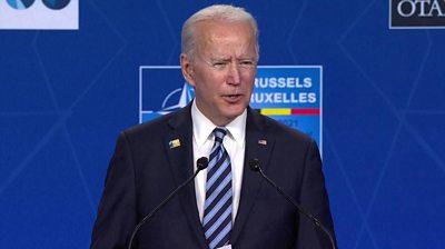 US Ppesident Joe Biden