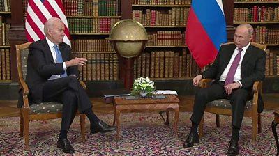 Biden talking to Putin