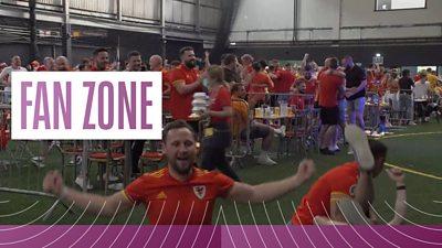 Wales fan zone