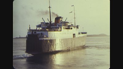 Three CalMac vessels were designed to serve as floating bunkers