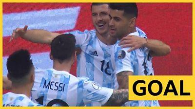 Messi, Rodriguez