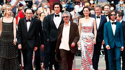 actors on red carpet