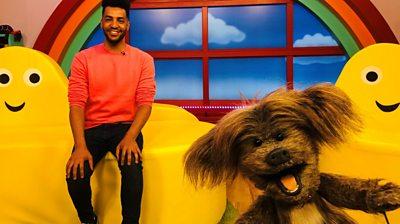 BBC CBeebies new presenter Gyasi Sheppy, from Lisburn, on his dream job.