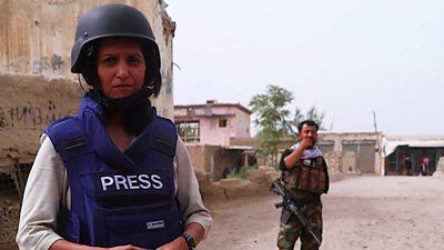 Yogita Limaye in Afghanistan