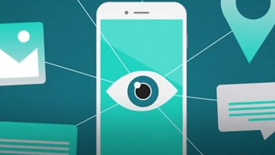 Spyware graphic
