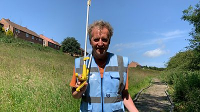 Meet Mick, Scarborough's fly-tipping 'hero'