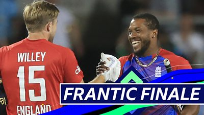 England v Pakistan T20: Watch best moments as England win series at Old Trafford thumbnail