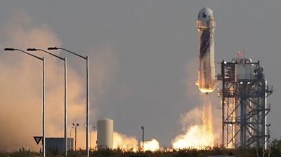 Bezos launch