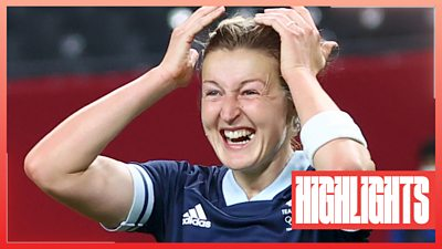Tokyo Olympics: Ellen White scores brace to secure victory 2-0 for Team GB against Chile - highlights thumbnail