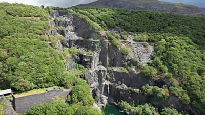 The slate landscape is the latest Unesco World Heritage site