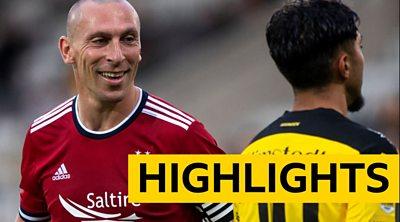 Aberdeen progress in Europe despite loss to 10-man Swedes