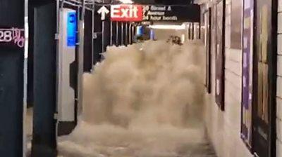 NYC floods