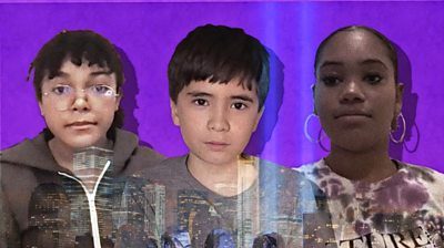 Children in New York explain what it's like to grow up in the shadow of an event that they don't remember, but shaped their city and their country.