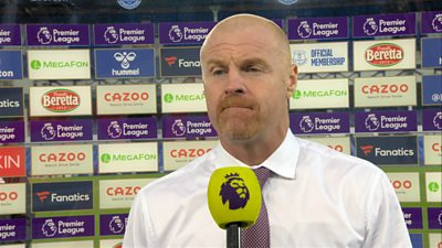 """Burnley boss Sean Dyche says his side were """"hurt"""" by their own mistakes after Everton came from behind to beat Burnley 3-1 in the Premier League."""
