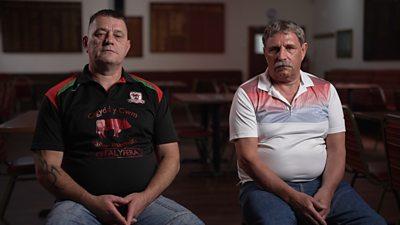 Nigel Evans and Jake Wyatt