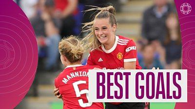 Women's Super League: Ella Toone's long-range stunner for Man Utd features in best goals