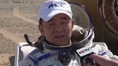 Chinese astronaut Liu Boming