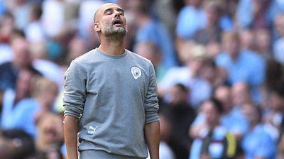 Man City 0-0 Southampton: Pep Guardiola says his side 'struggled' against Saints