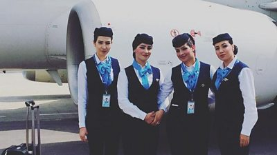 Ariana Airlines cabin crew