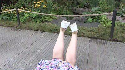 BBC Weather presenter Carol Kirkwood's legs