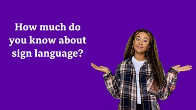 Text: How much do you know about sign language, journalist featured: Chanise Evans
