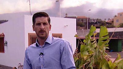 The BBC's Dan Johnson in La Palma